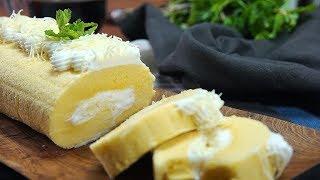 Gambar cover Resep Bolu Gulung Irit Telur, Hasilnya Enak dan Lembut Banget ● Resep Masakan