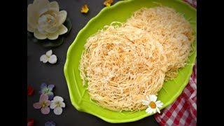 লাচ্ছা সেমাই || ঘরে তৈরী সেমাই || Homemade Lachcha Semai || Eid Special Bangladeshi semai recipe