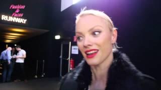 Fashionweek in Berlin Januar 2013 mit Stars und  Franziska Knuppe