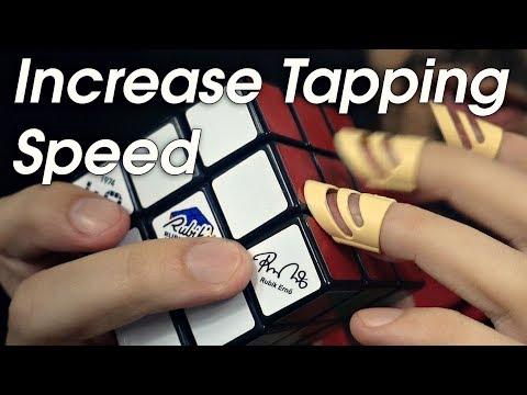 Increasing ASMR Tapping Speed