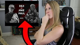 DEJI AND JAKE PAUL IS NOT HAPPENING!? My Thoughts