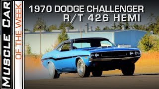 1970 Dodge Challenger R/T 426 Hemi: Muscle Car Of The Week Video Episode 232 V8TV