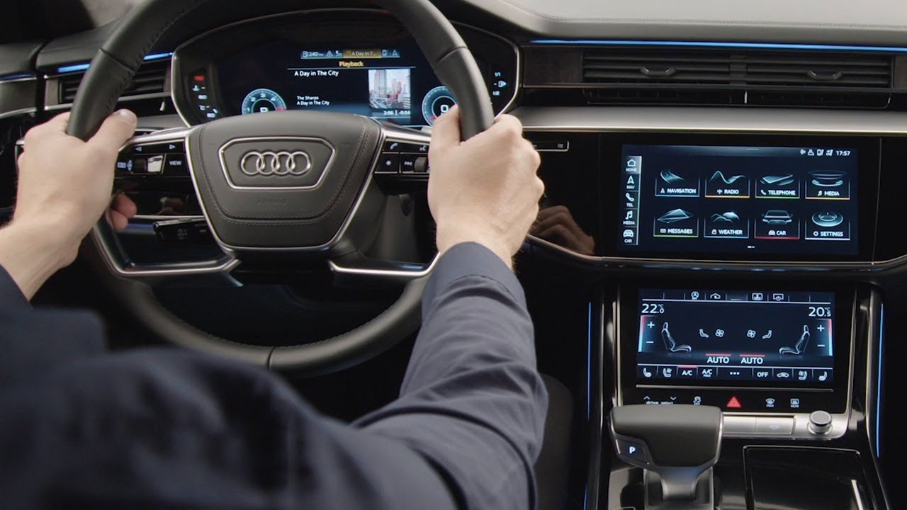 Audi A8 2018 Mmi Navigation Plus Mit Mmi Touch Response Guided