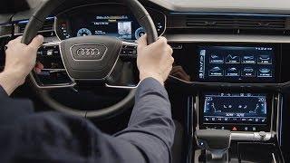 Audi A8 2018: MMI Navigation plus mit MMI touch response (Guided Tour)