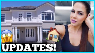HOUSE UPDATES & SHOPPING FOR NEW HOME DECOR!!! WEEKLY VLOG!