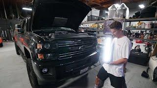 Adding A Light Bar To My Chevy 2500hd!!