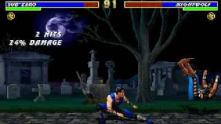 Mortal Kombat 3 PC gameplay