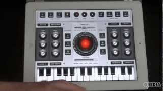 Ipad App Overview Voice Synth By Qneo Youtube