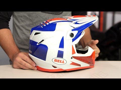 Bell Moto 3 >> Bell Moto-9 Flex Vice Helmet Review at RevZilla.com - YouTube