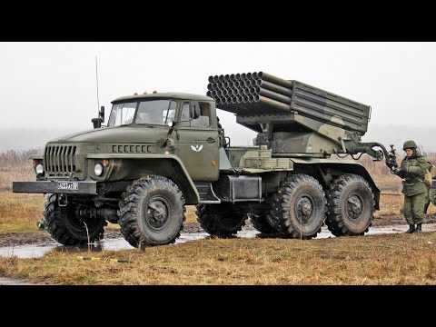 BM-21 Grad MLRS How it Functions - MADE in the USSR