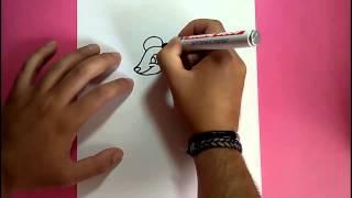 Como dibujar un raton paso a paso 9 | How to draw a mouse 9