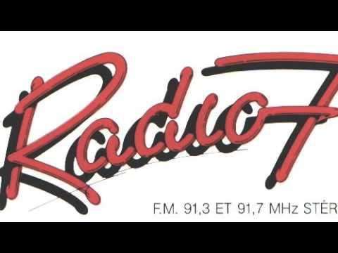 Radio 7 - Lancement  de l'antenne - Juin 1980