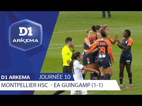 J10 : Montpellier HSC - EA Guingamp (1-1), le résumé | D1 ARKEMA 2019/2020