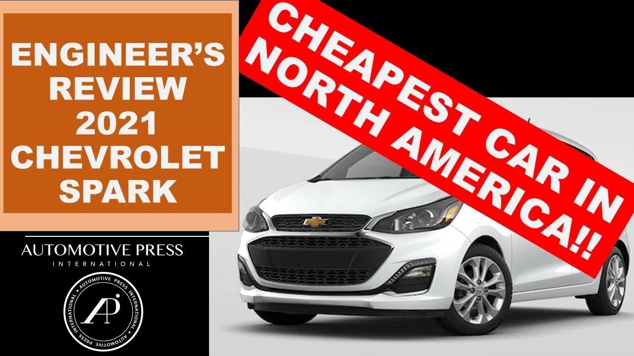 Engineer Reviews the cheapest new car in North America : 2021 Chevrolet Spark! Is it any good??