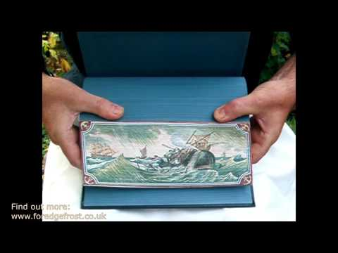 Fore-Edge Painting: The Art of Hiding Images on Page Edges