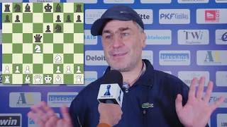 Round 9 Gibraltar Chess post-game interview with Vasilly Ivanchuk