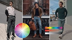 Color Theory in Men's Fashion | How to Think About Color in an Outfit