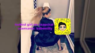 Hottest, sexiest snapchat girls twerking compilation 2018