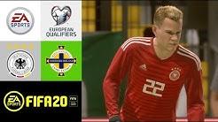 FIFA 20: Deutschland v Nordirland l [EM-Qualifikation 2020] - Prognose [FULL HD]