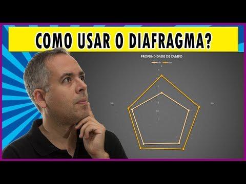 Como usar o diafragma para controlar a profundidade de campo