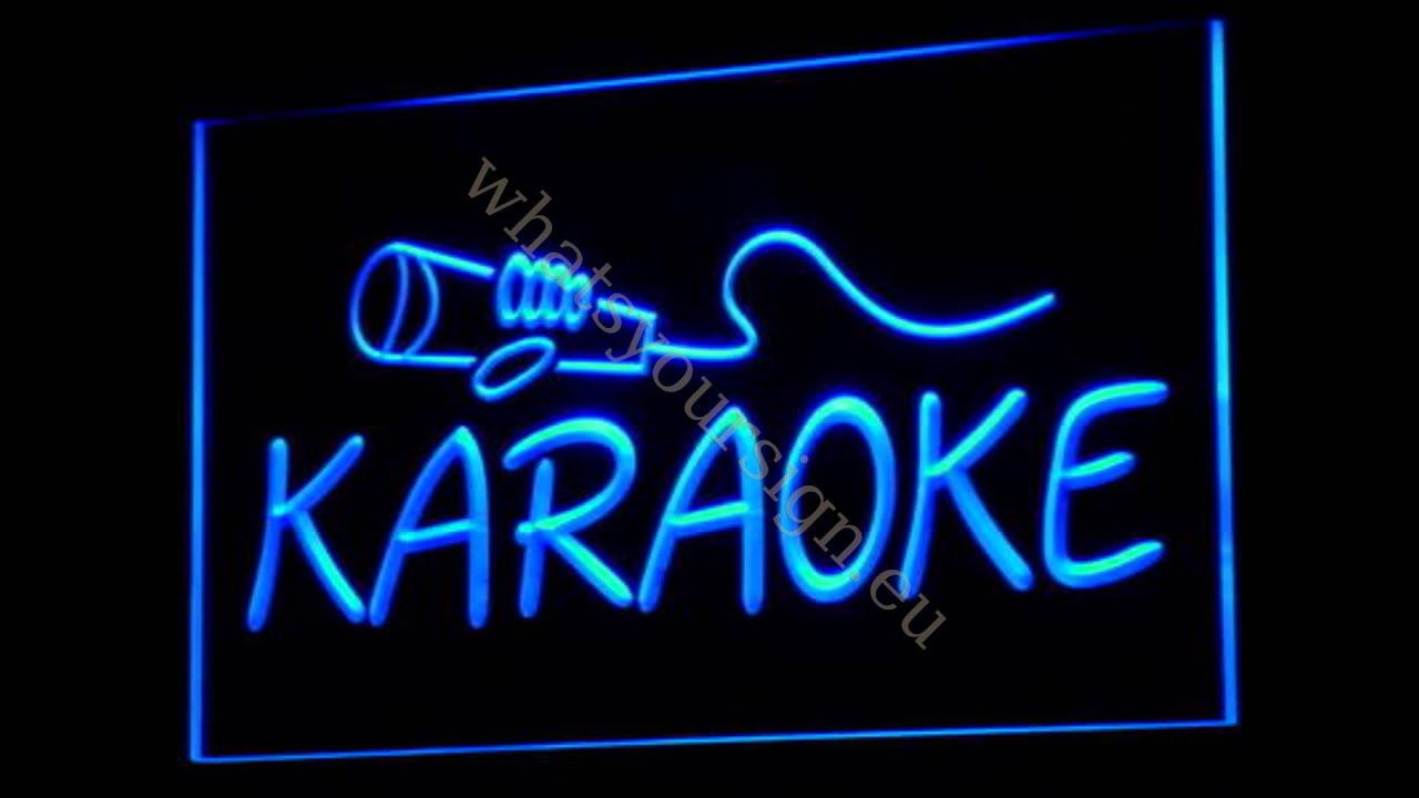Karaoke Led Neon Light Sign Display You