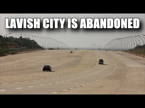 THE ABANDONED CITY SIX TIMES THE SIZE OF NEW YORK CITY