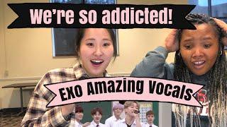 EXO AMAZING VOCALS REACTION