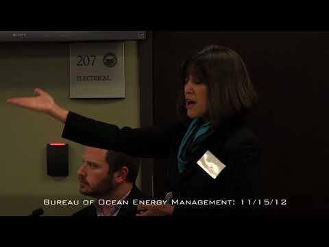 Bureau of Ocean Energy Management 11/15/12