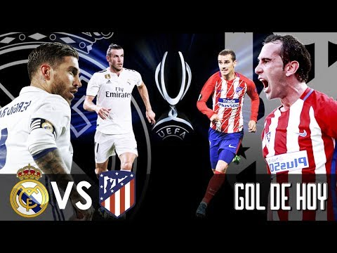 Real Madrid 2 Atlético de Madrid 3 I FINAL Supercopa de Europa 15/08/2018 thumbnail