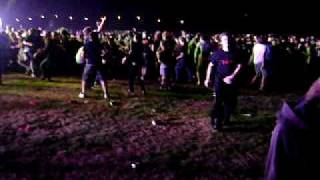 Lamb of God Redneck Wall of Death Monster Energy Stage Sonisphere 2009