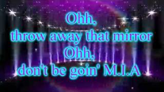 "Selena Gomez - 7. ""Spotlight""   - Lyrics on screen"