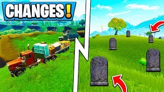 *ALL* Fortnite MAP Changes! | Graveyard, New Factory V2 Location ( 5.1 Update )