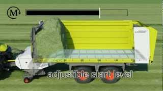 CLAAS CARGOS loading process animation / 2010