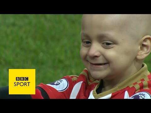 Five-year-old bradley wins match of the day goal award - bbc sport