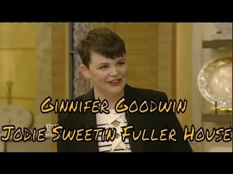 "Live! With Kelly and Michael 02.25.2016 Ginnifer Goodwin Jodie Sweetin (""Fuller House"")."