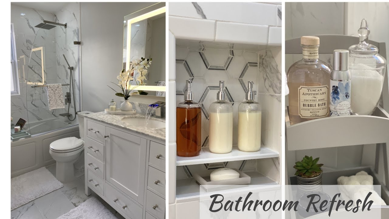 Small Bathroom Renovation 2020 Bathroom Decor Ideas Youtube