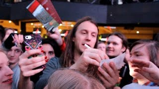 Epica meet fans & plays live in Moscow, Izvestiya Hall 24.02.2017