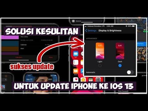 Kamu Kesulitan Update Ke IOS 13, Kendala Software Update Muter Terus?