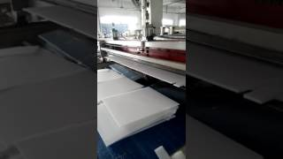 High-speed automatic corrugated plastic sign board