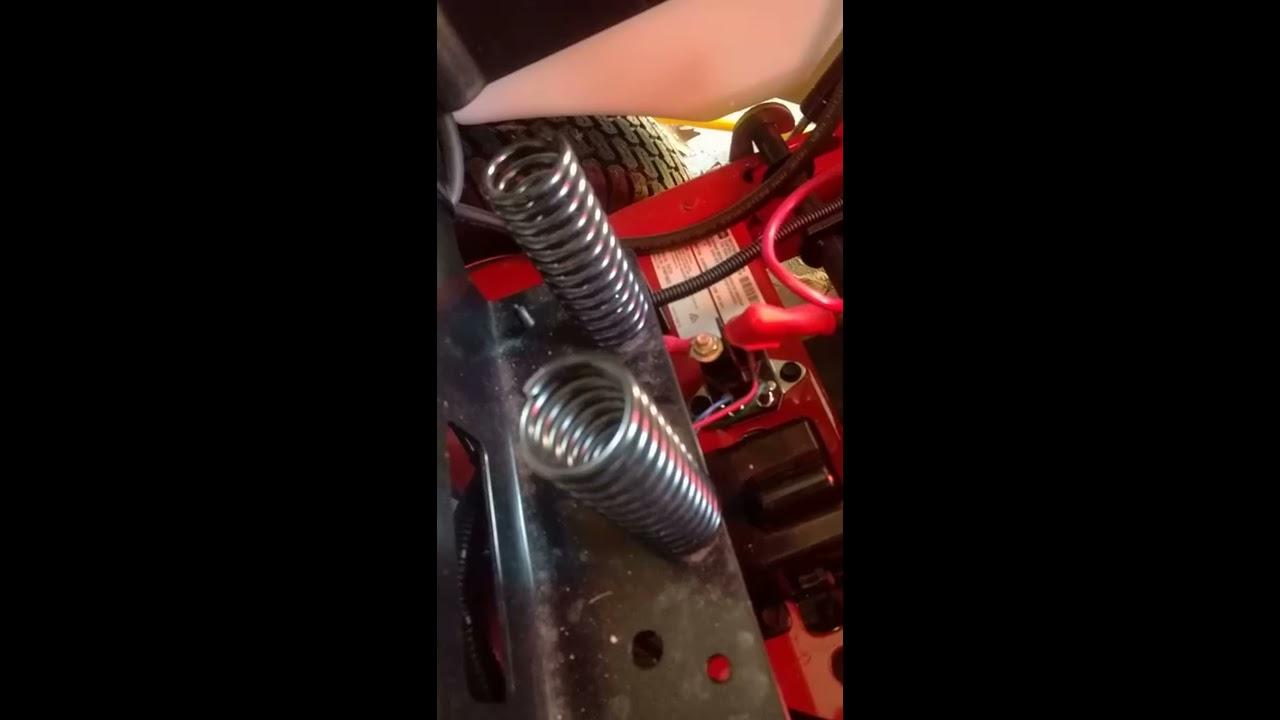 Manually releasing the electric break on a Toro Timecutter 4225 zero turn lawn mower  YouTube