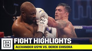 HIGHLIGHTS | Alexander Usyk vs. Derek Chisora