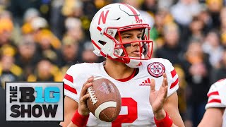 Adrian Martinez Feature Nebraska Big Ten Football
