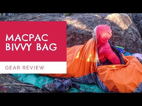 Bivvy Bag Gear Review - Macpac