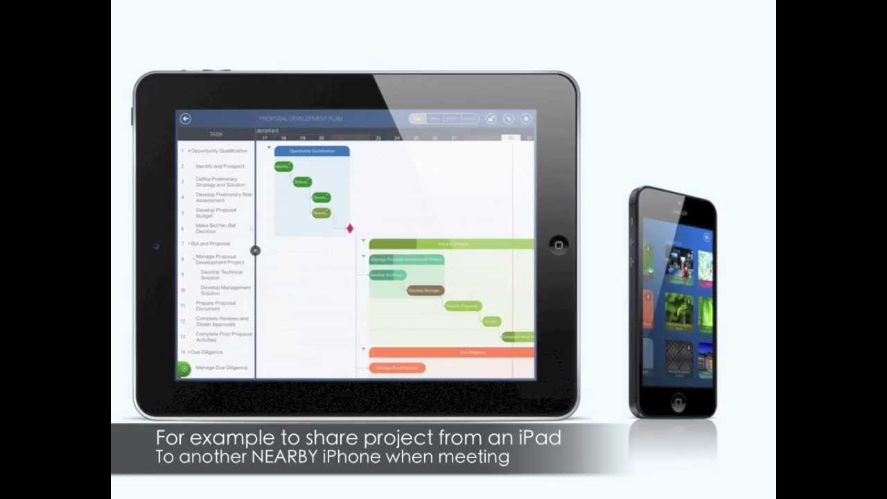 Quickplan project plan hd youtube for Project planner hd