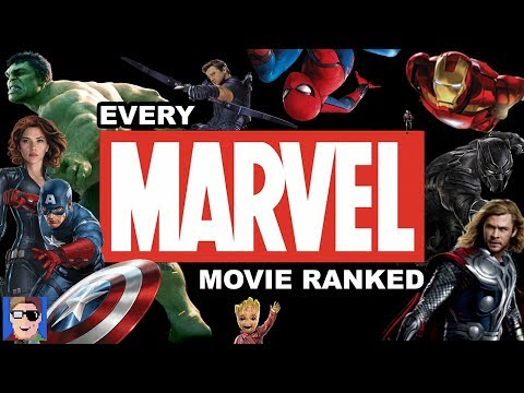 EVERY MARVEL MCU MOVIE RANKED