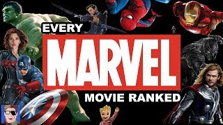 EVERY MARVEL MOVIE RANKED