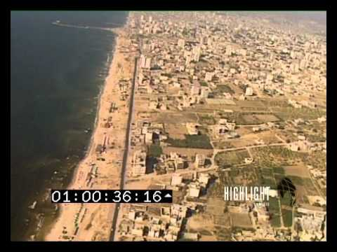 Awesome Aerial Footage of Gaza (SDTR102GazzaAerials)