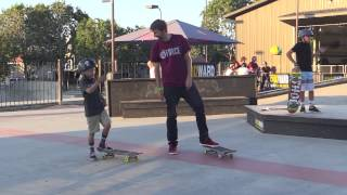 AARON TEACHES A 9 YEAR OLD FAKIE BIGSPINGS!