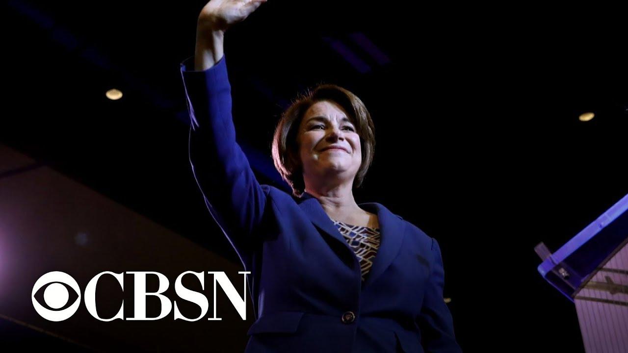 Amy Klobuchar still in the running as polls tighten in Iowa
