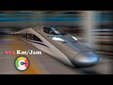Top Speed 603Km/h 9 Kereta Tercepat Di Dunia